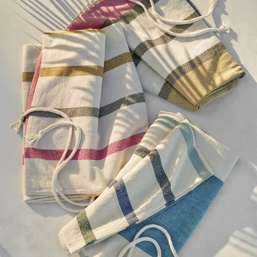 Alfresco Stripe Picnic Throw