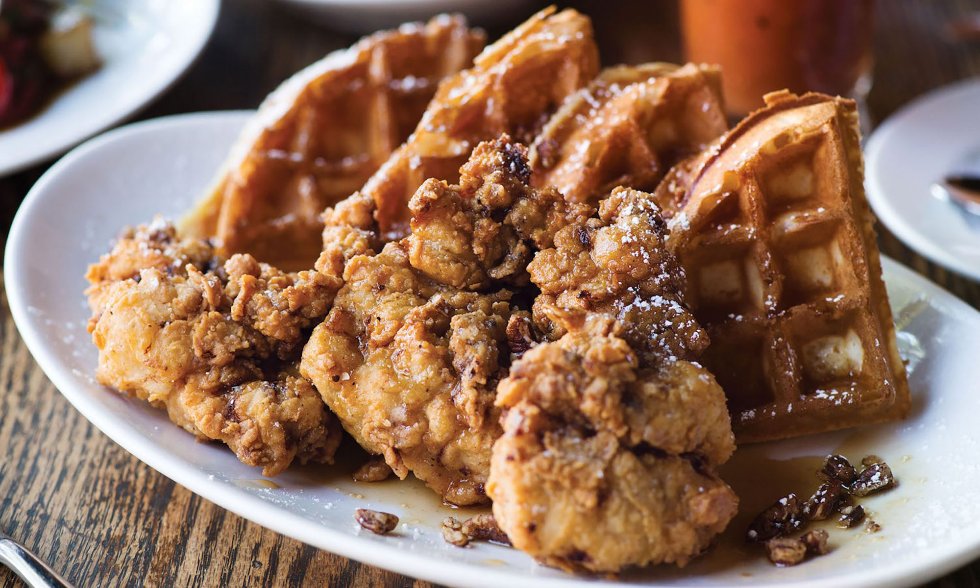 Chicken and Waffles Are the Best Clucking Breakfast Ever
