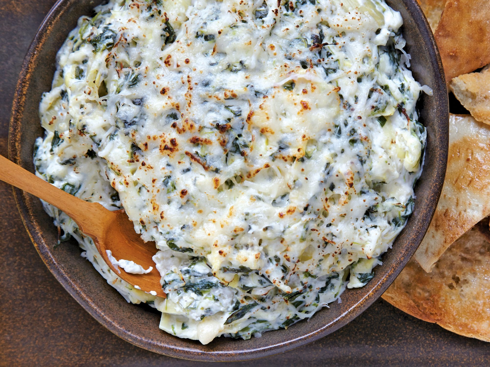 Our Best Dip Recipe: Spinach-and-Artichoke Dip