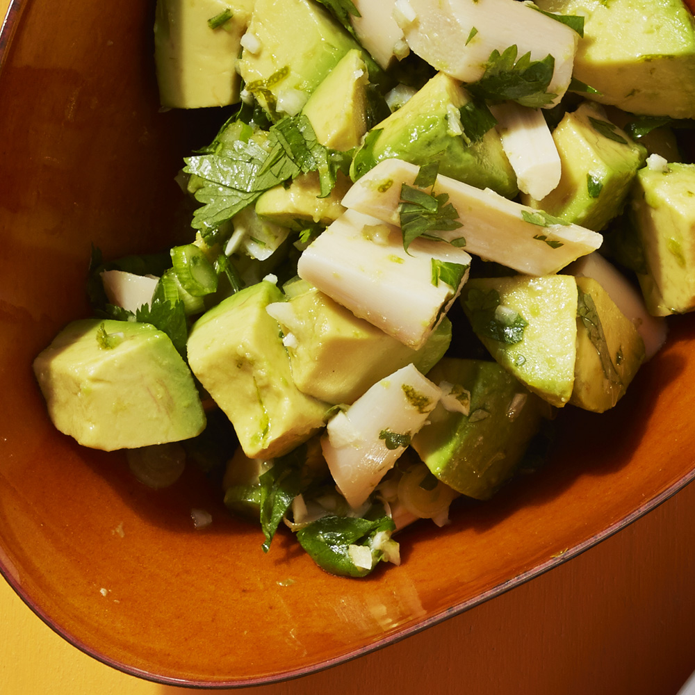 Avocado-Hearts of Palm Salad