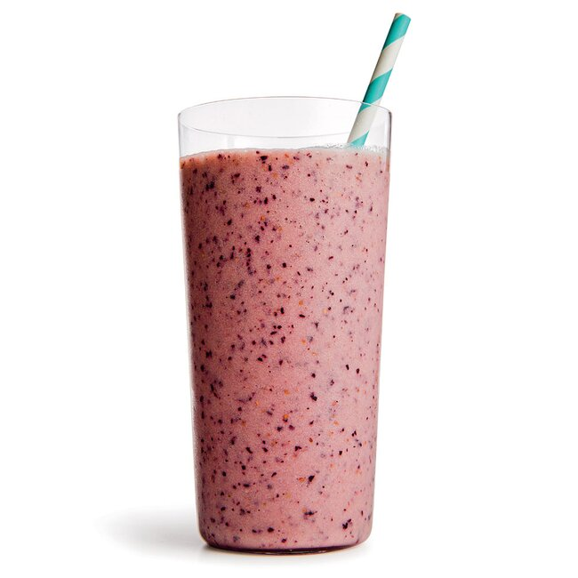 Banana-Berry Buttermilk Smoothie
