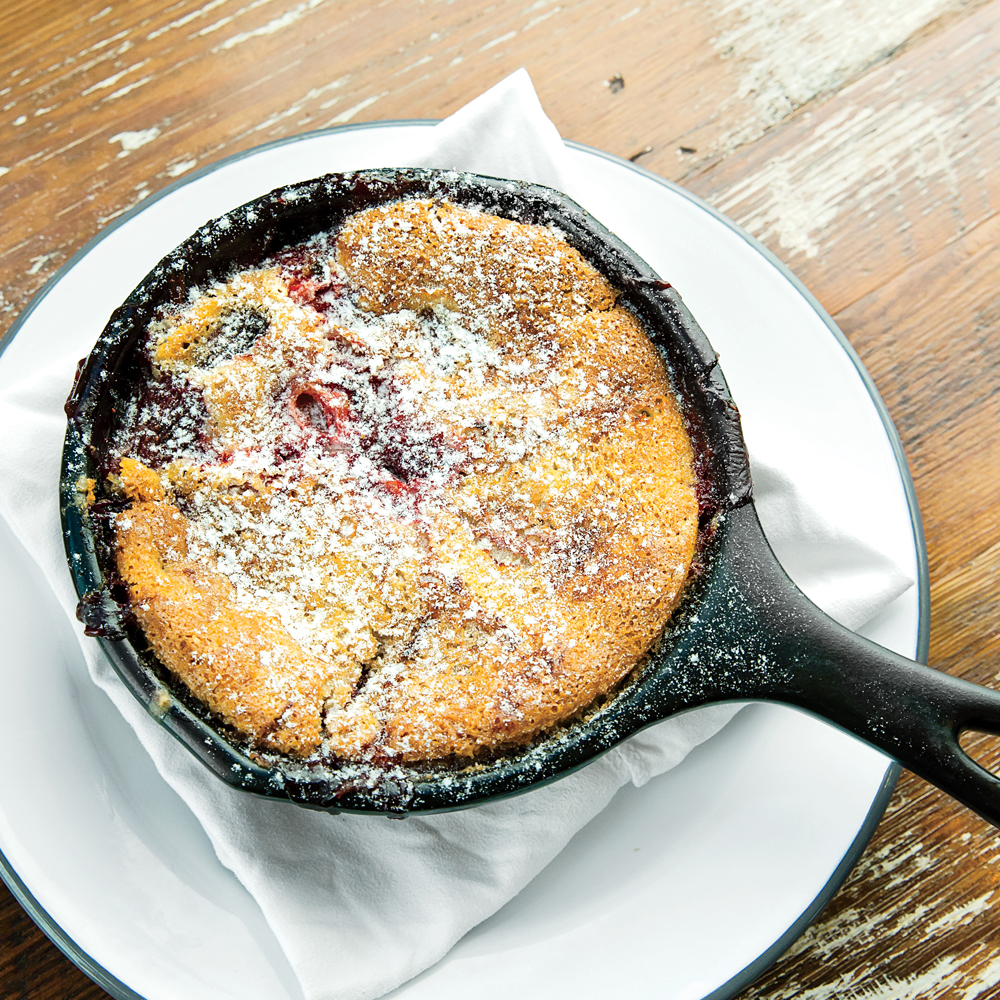 Blackberry-and-Bourbon Cobbler