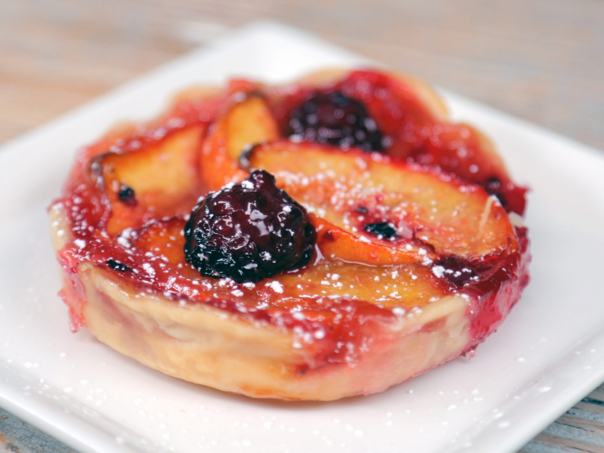 Blackberry-Peach Mini Pies image