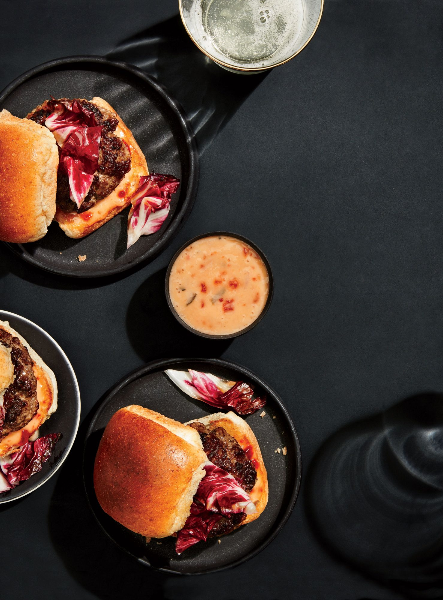 Buffalo-Brisket Sliders with Special Sauce image