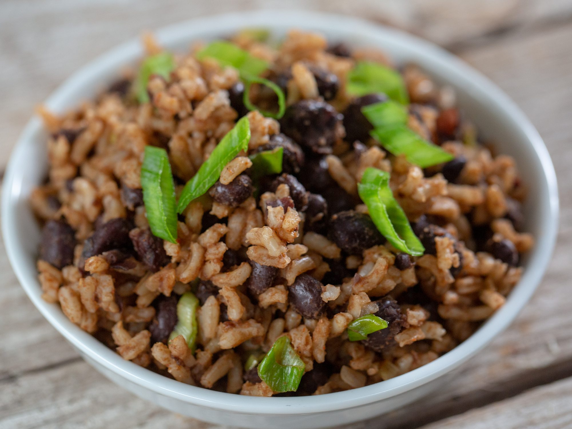 Simple Rice And Beans image