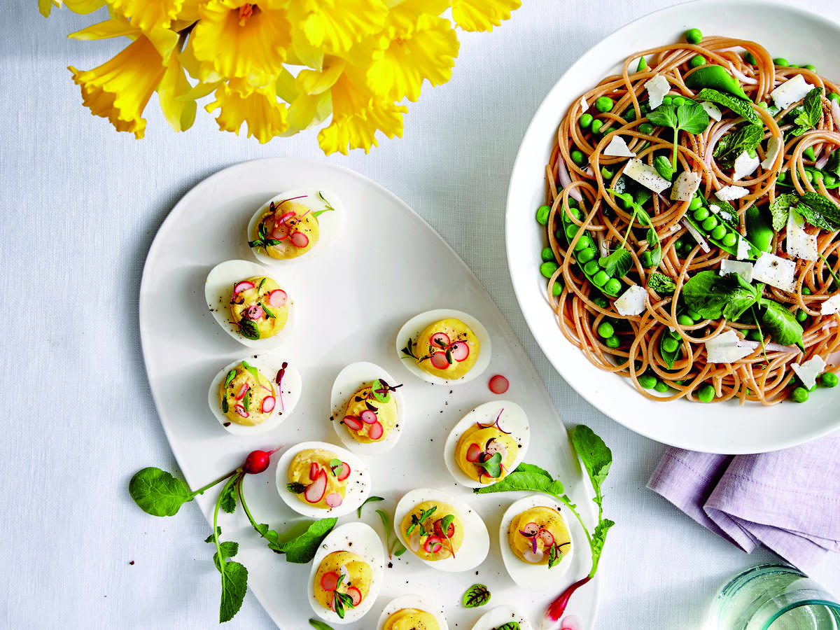 Buttery Deviled Eggs