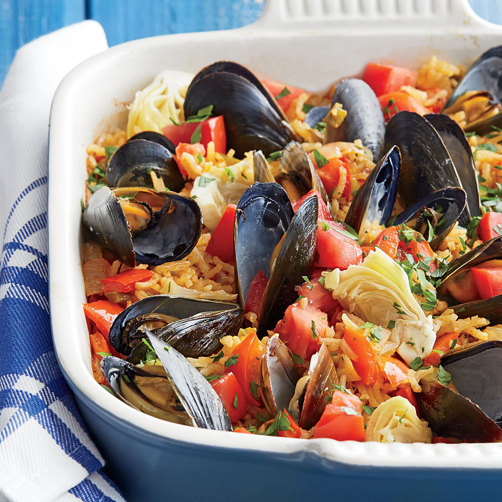 Catalan Rice with Mussels