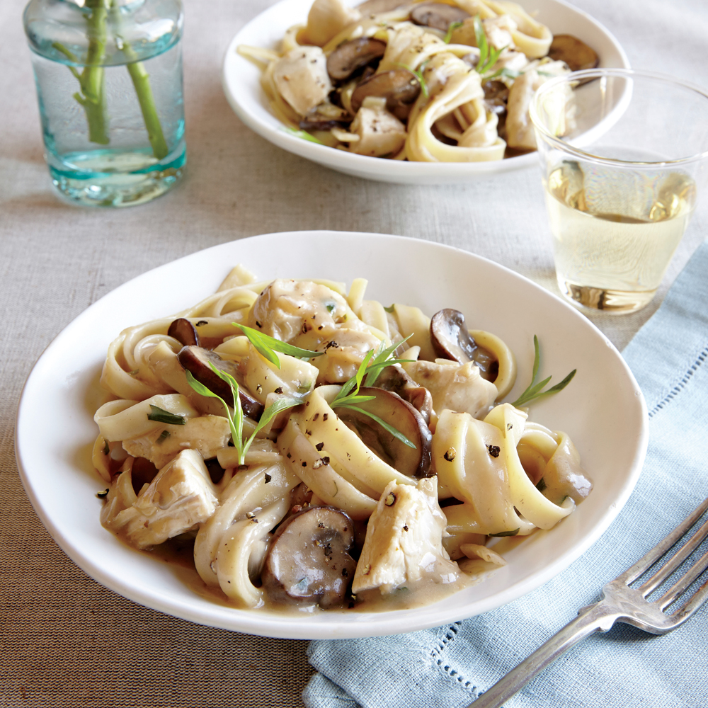 Chicken and Mushroom Stroganoff