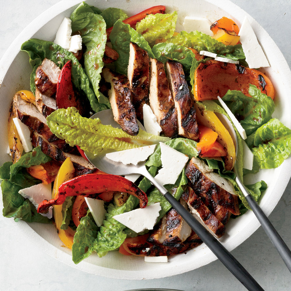 Grilled Chicken Paillard Salad