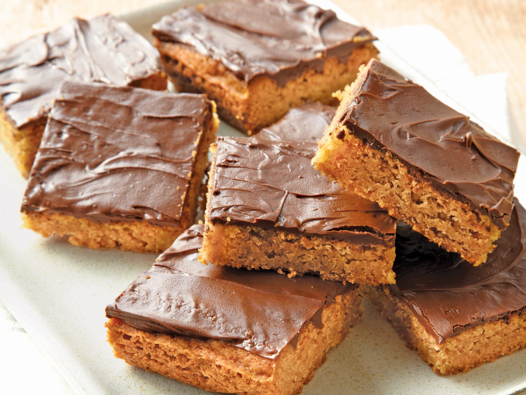 Chocolate-Peanut Butter Bars