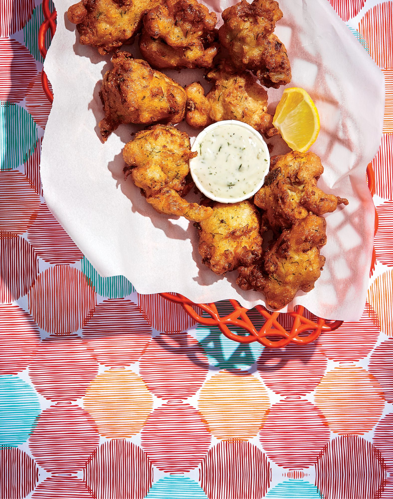 Clam Chowder Fritters