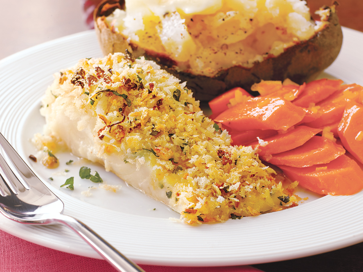 Crispy Baked Cod, cod recipes