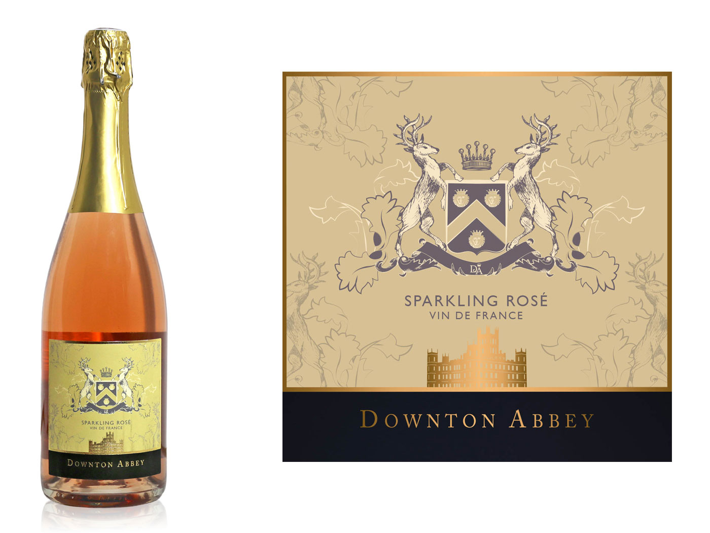Three 'Downton Abbey' Wines Premiere Ahead of the Upcoming Movie downton-abbey-movie-rose-wine-FT-BLOG0919