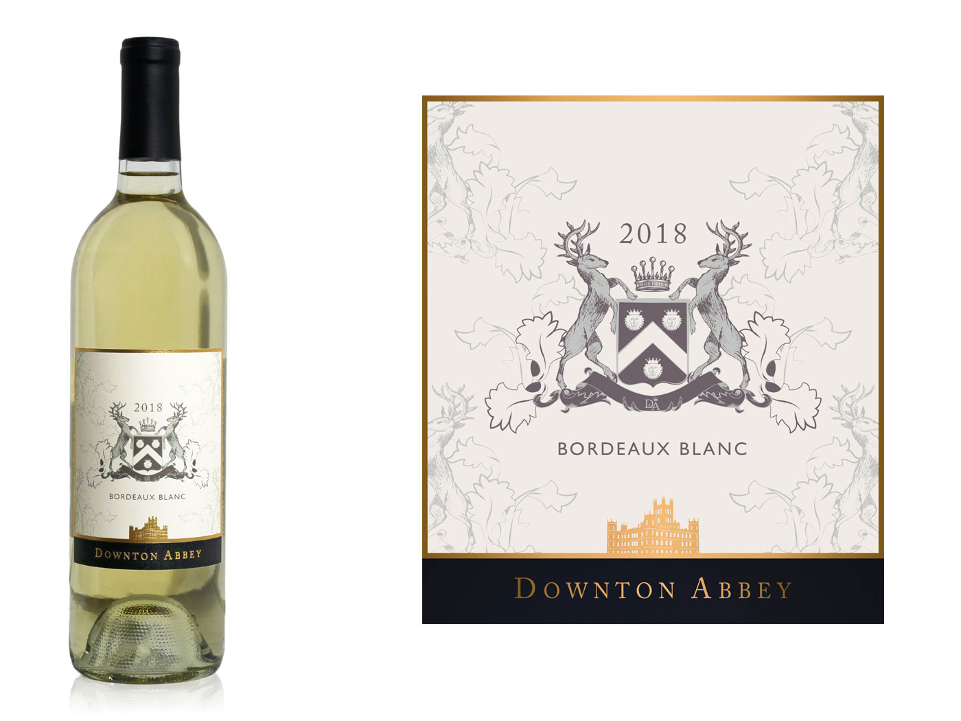 Three 'Downton Abbey' Wines Premiere Ahead of the Upcoming Movie downton-abbey-movie-white-wine-FT-BLOG0919