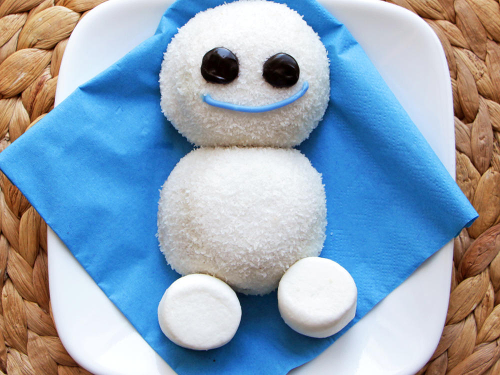 Easy Snowgie Treats from Frozen