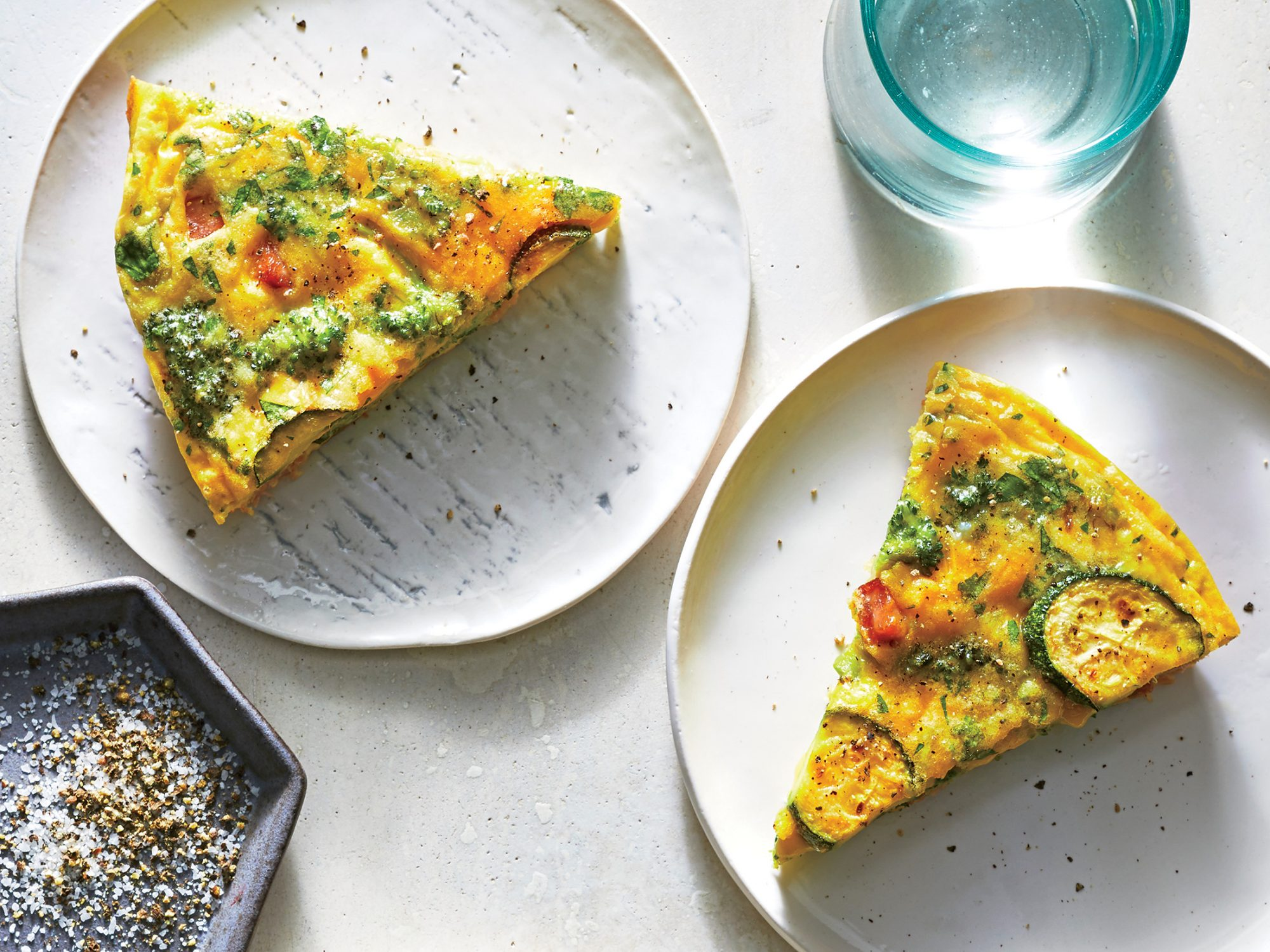 Easy Vegetable-Ham Frittata