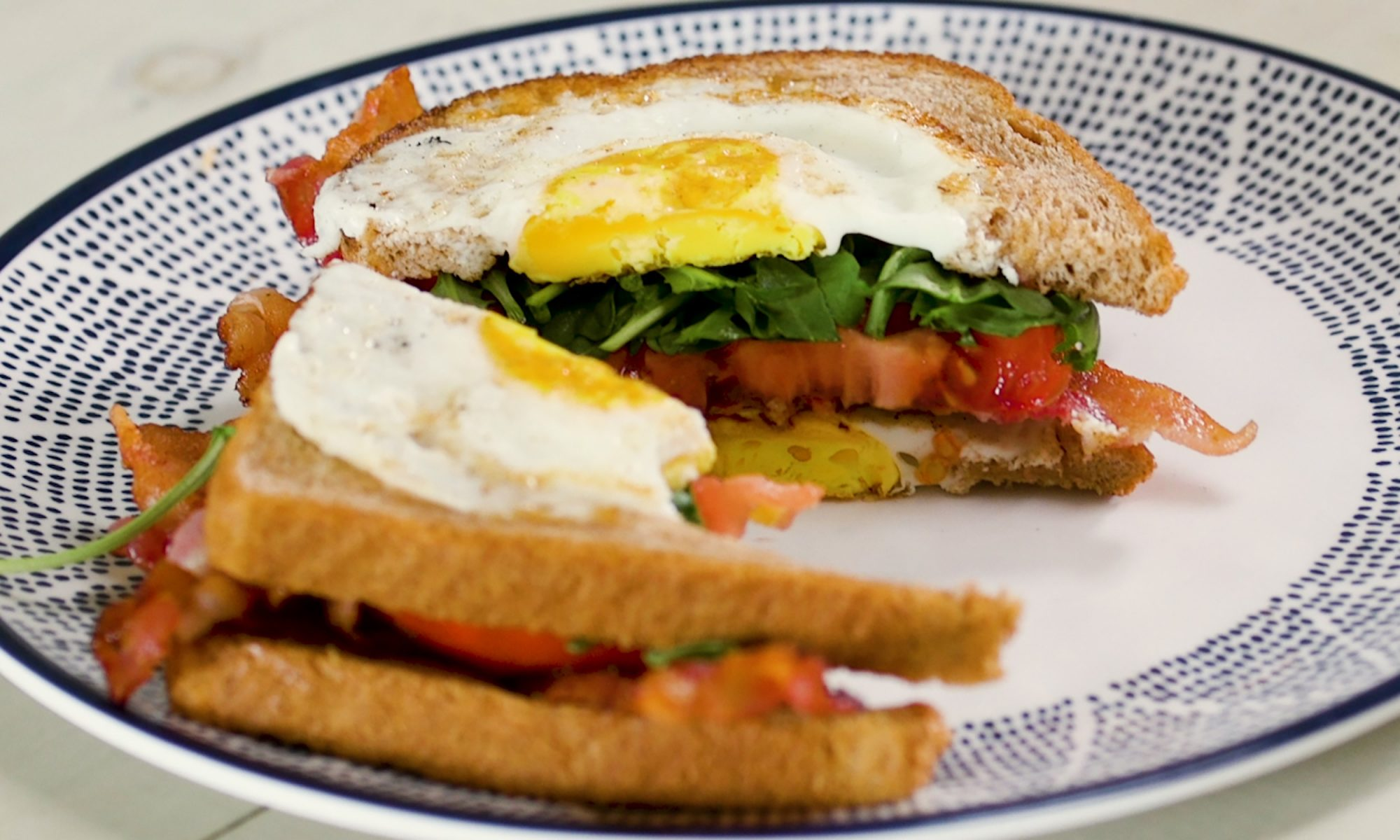 Egg-in-a-Hole BLT