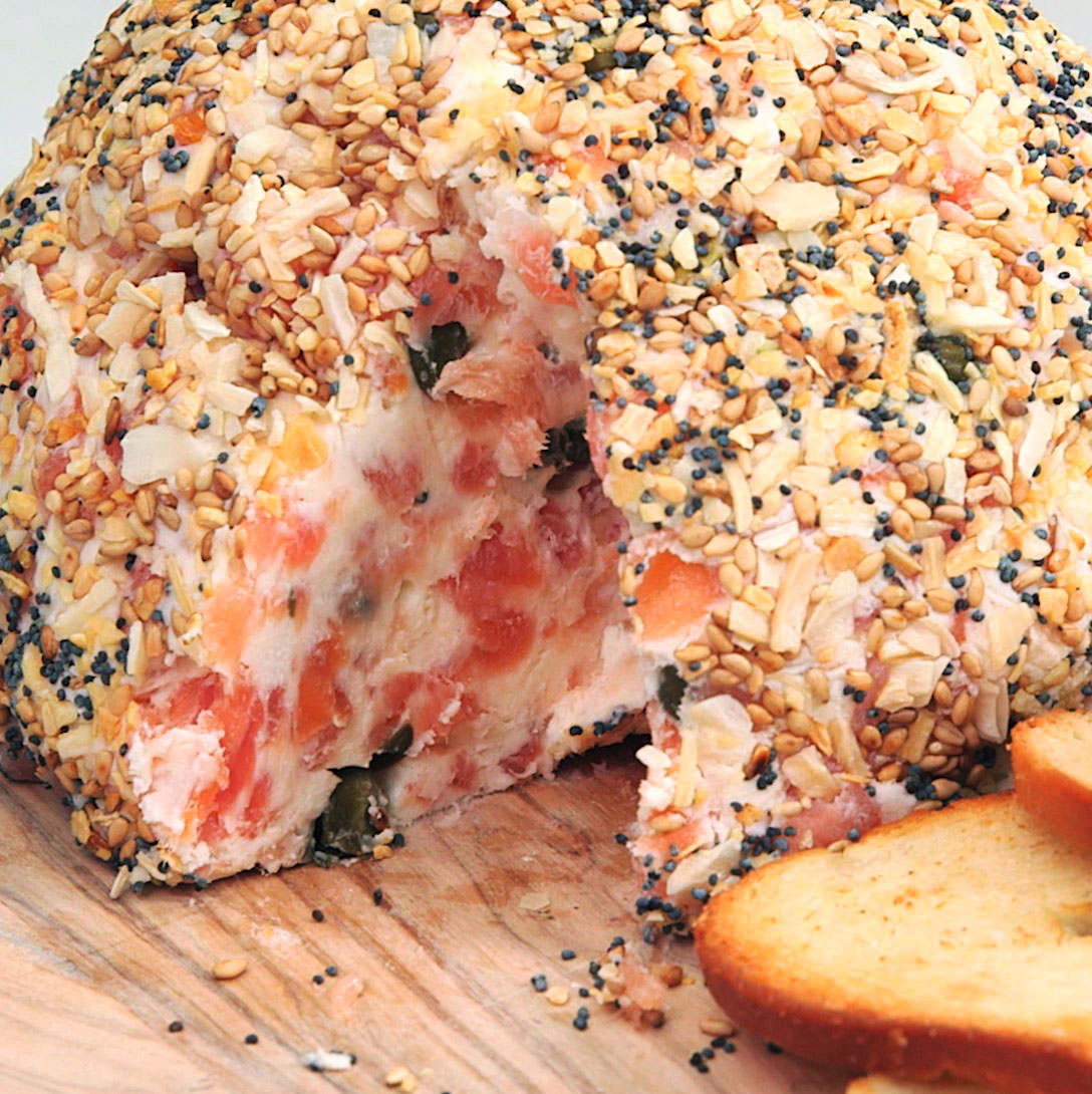 Everything Bagel Cheese Ball image