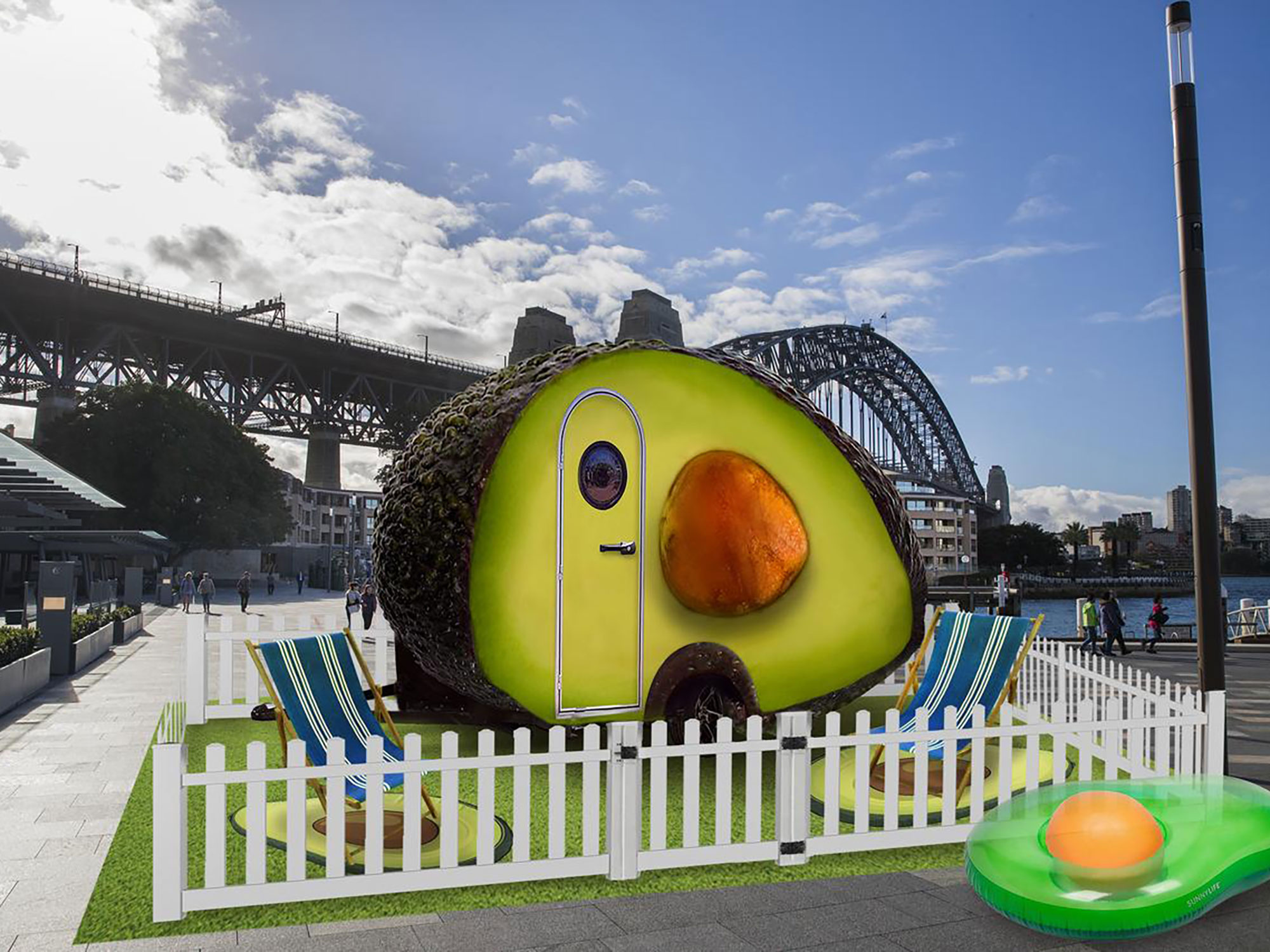 """You Can Stay in This Australian """"Avo-Condo"""" for Just $70 a Night"""
