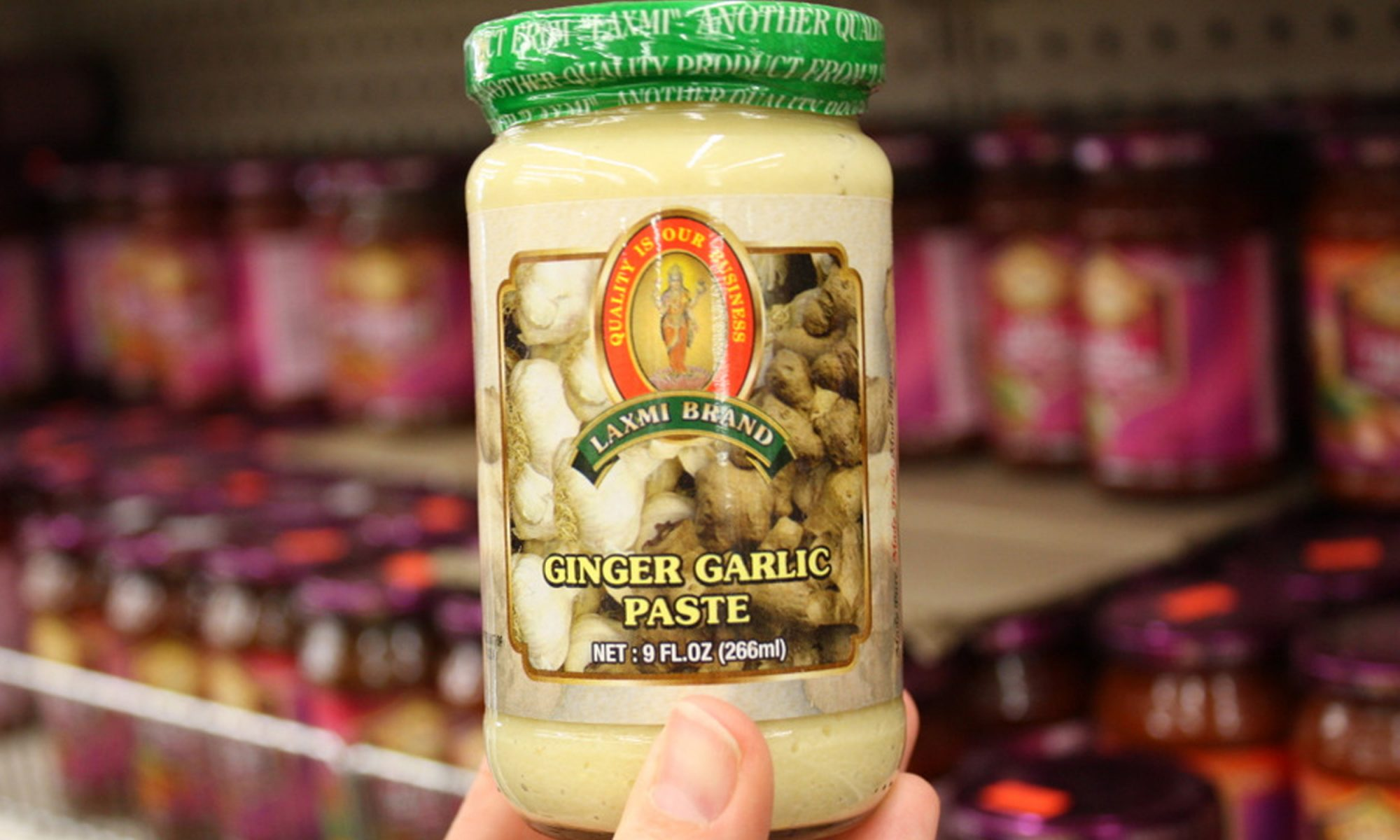 EC: Ginger-Garlic Paste Is the Condiment You Need