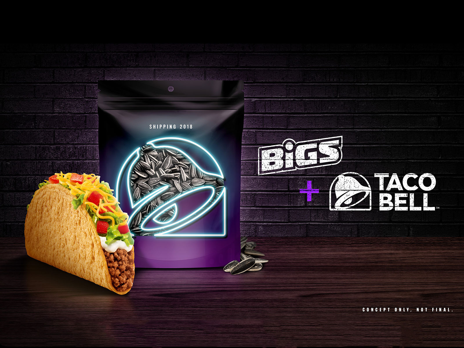 bigs taco bell sunflower seeds