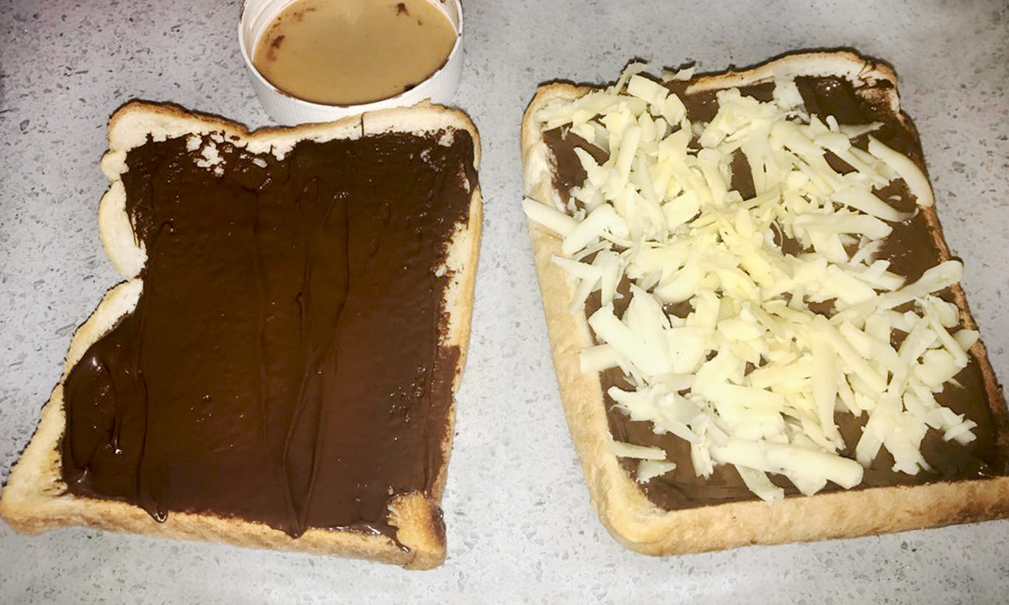 EC: Is Chocolate and Cheese Toast Brilliant or Disgusting?