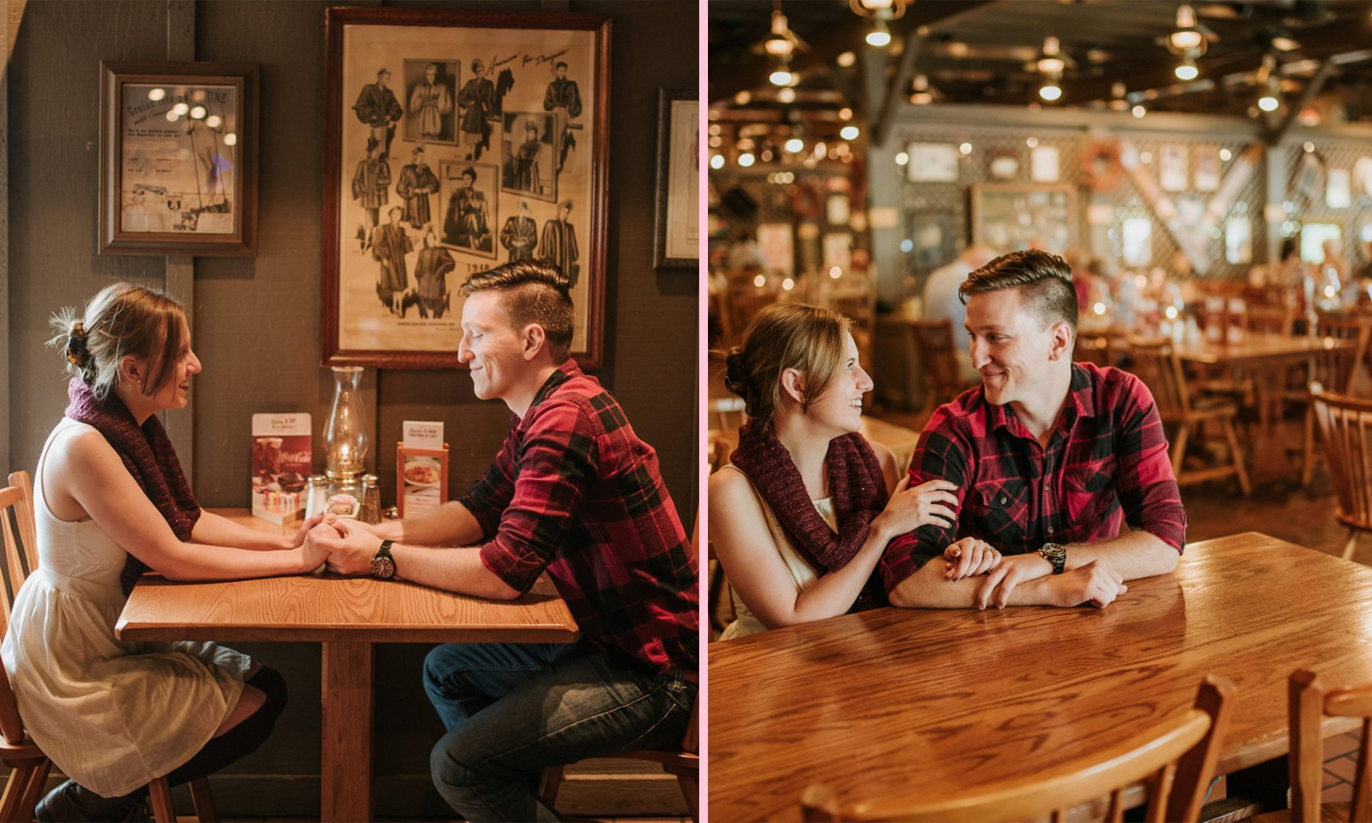 EC: This Couple Shot Their Engagement Photos at a Cracker Barrel