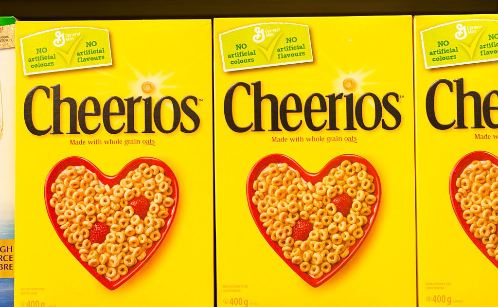 Cheerios tried and failed to patent the color yellow
