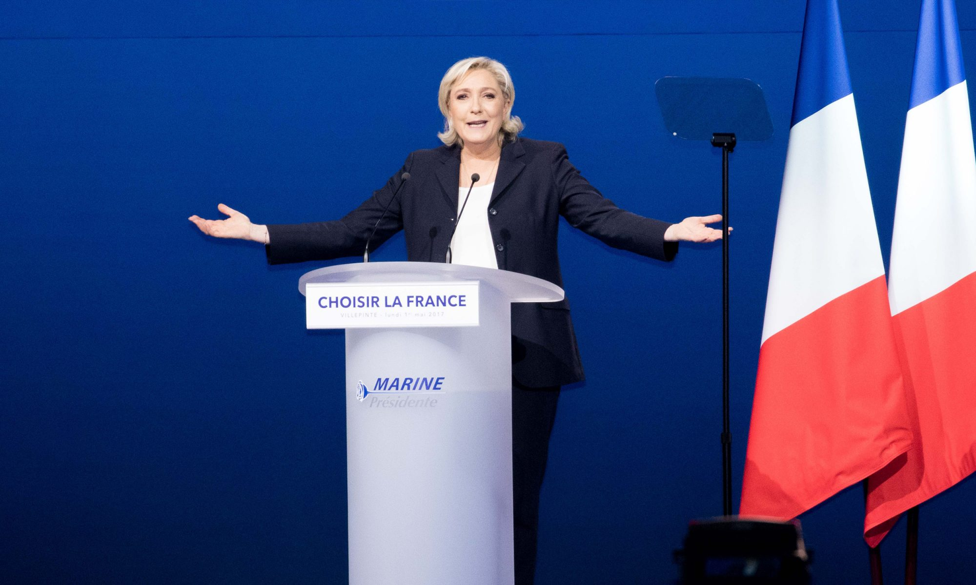 EC: Marine Le Pen Was Egged by French Protesters
