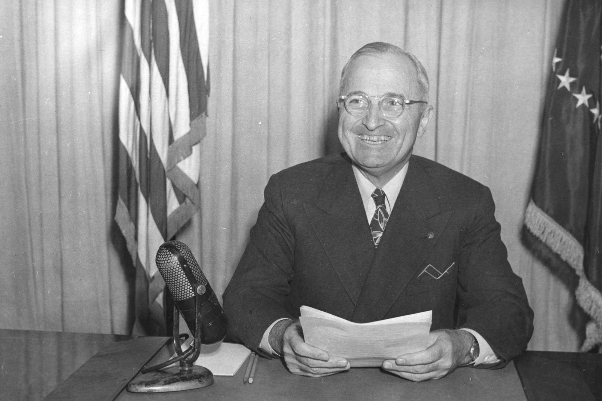 EC: Harry S. Truman Started Every Day with Bourbon