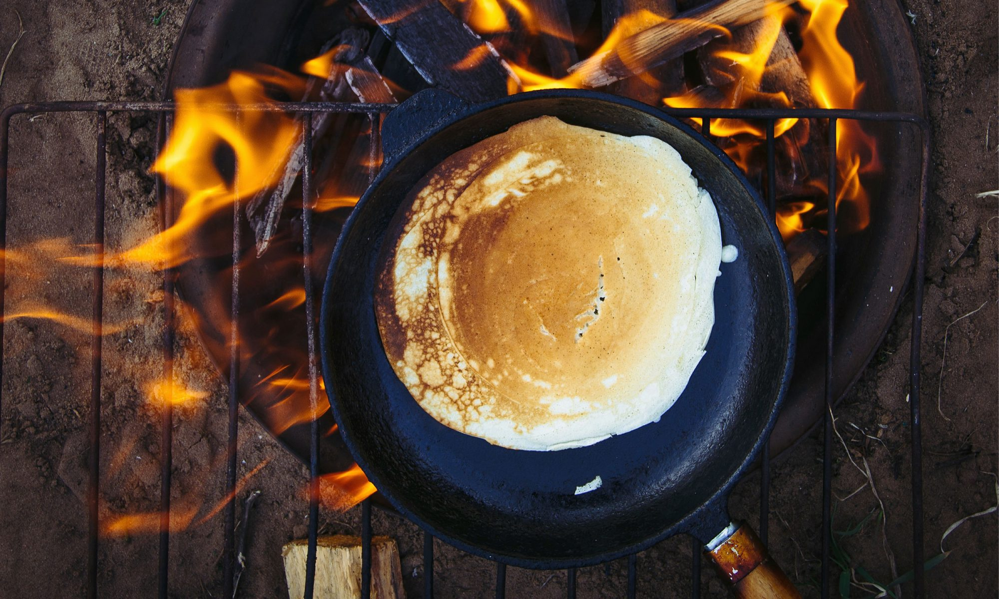 how to make pancakes on the grill
