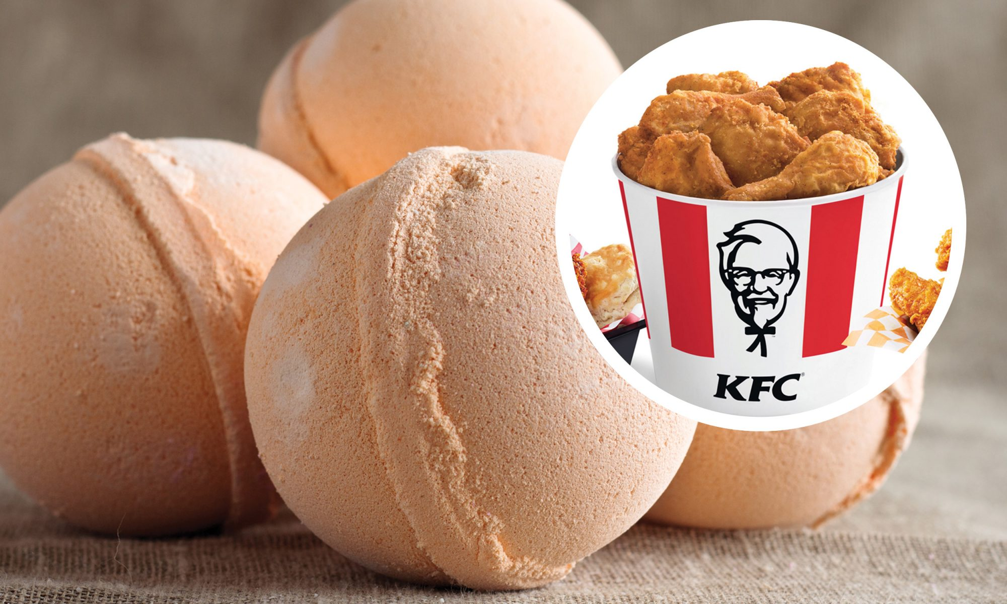 EC: KFC Is Unleashing a Fried Chicken Bath Bomb