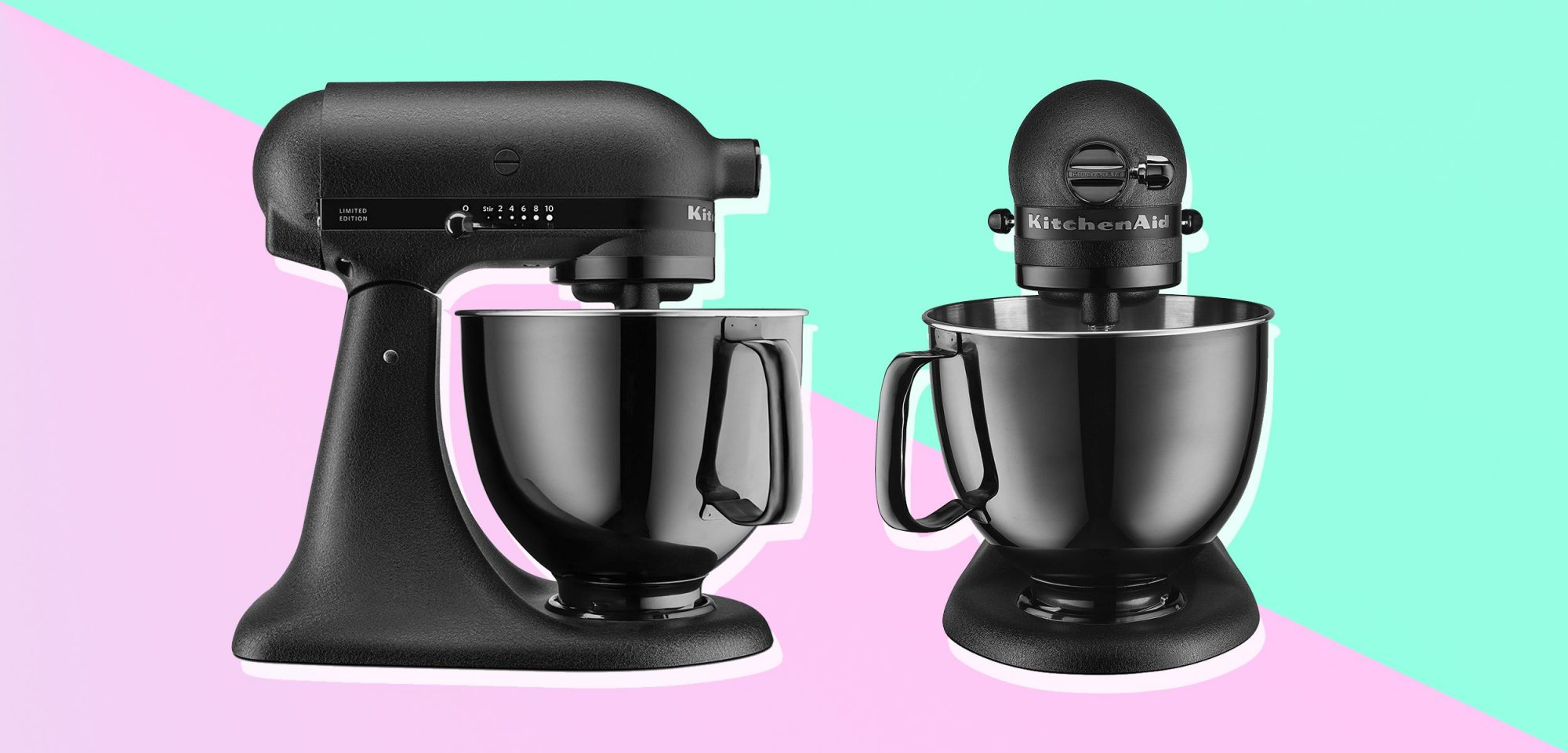 EC: Kitchenaid's Limited Edition All-Black Stand Mixer Is the Prettiest One Yet