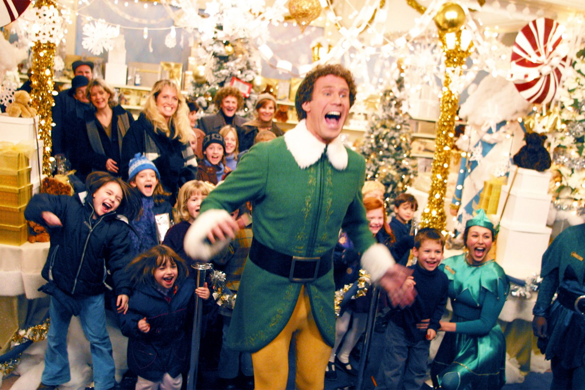 How 'Elf' built a winter wonderland out of paper and department store goods