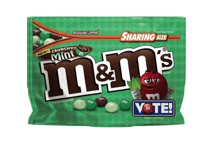 Crunchy Mint M&M's Are Here to Stay (For a While, at Least)