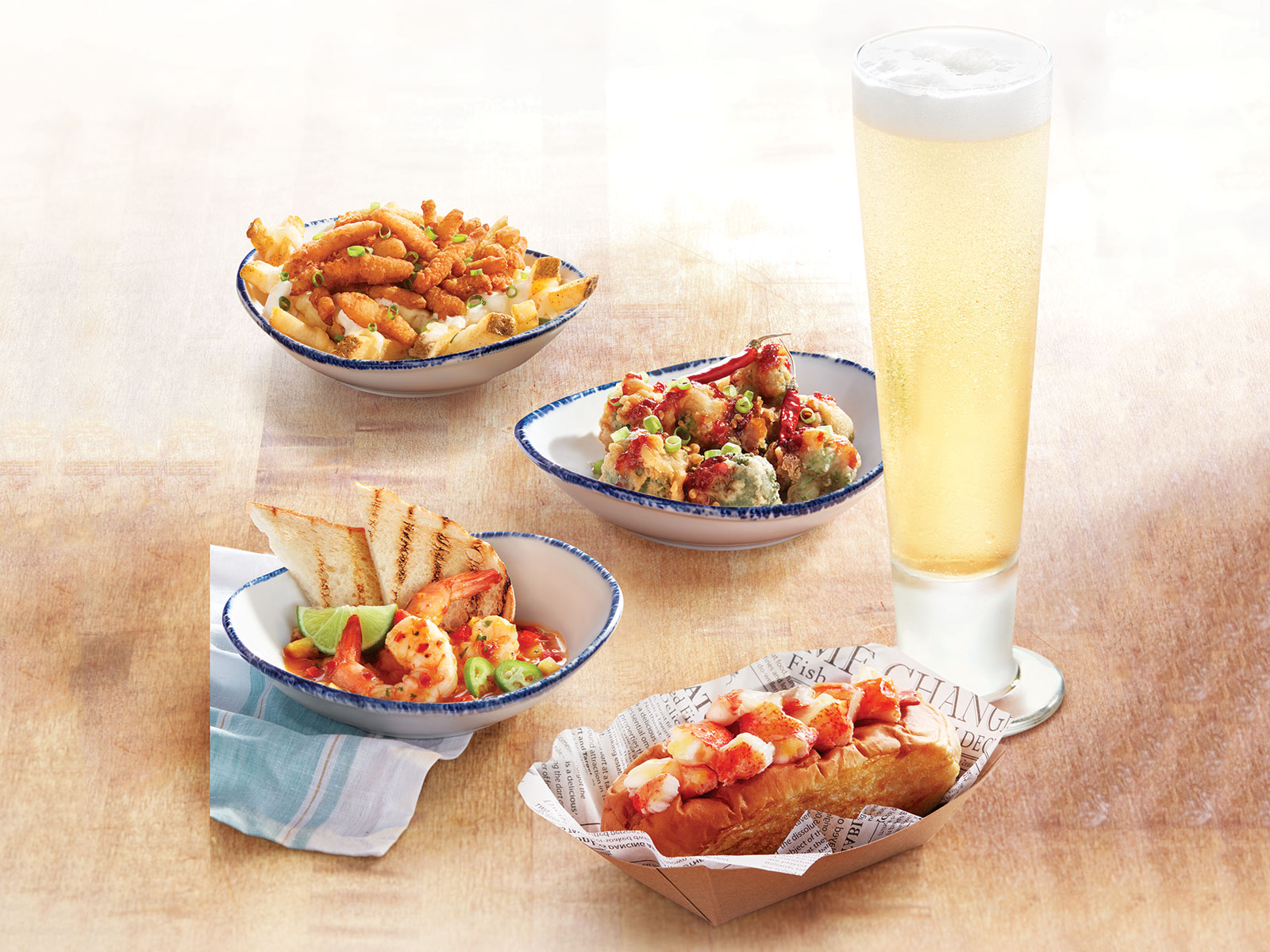 new food at red lobster