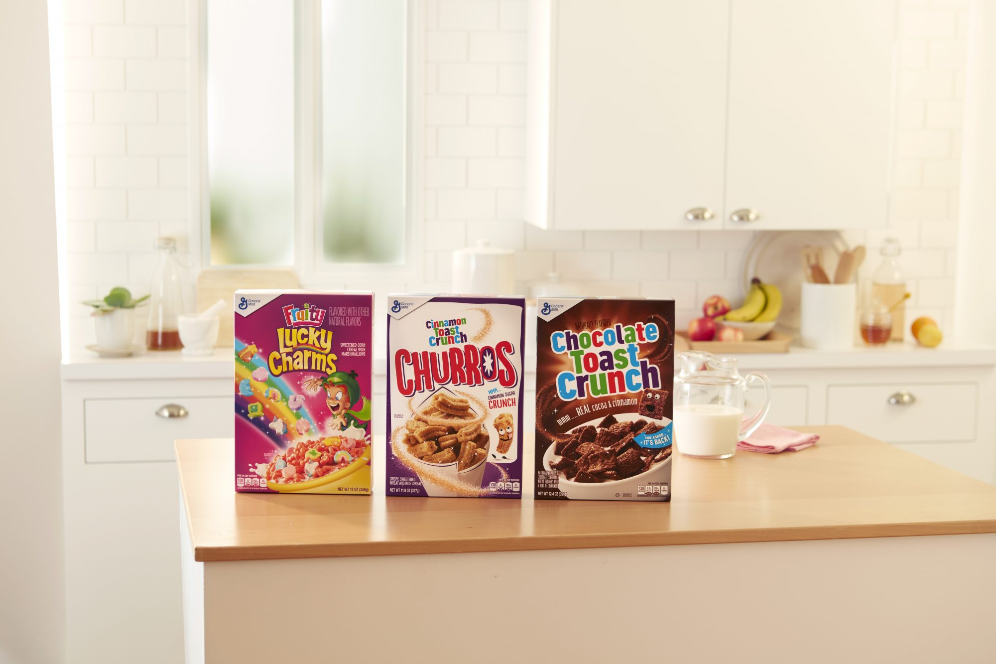 Cinnamon Toast Crunch Launches Churro Cereal