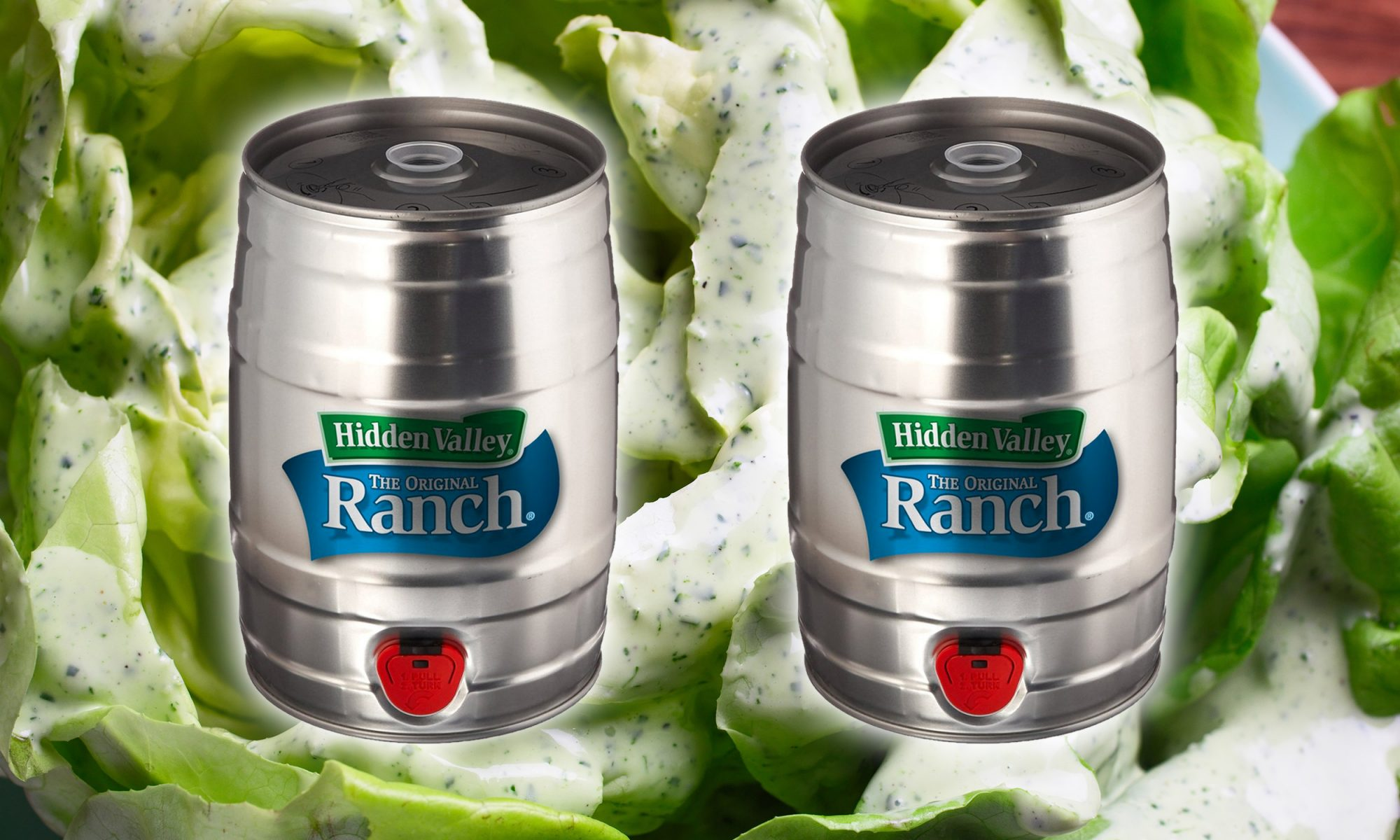 EC: You Can Buy a Keg of Ranch Now, Just in Time for the Holidays