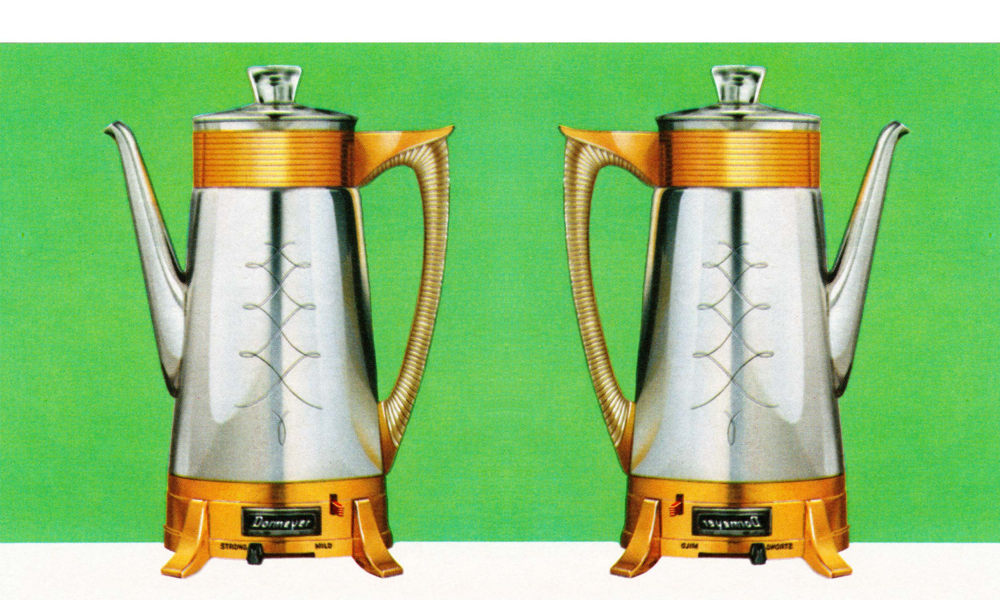 retro percolators