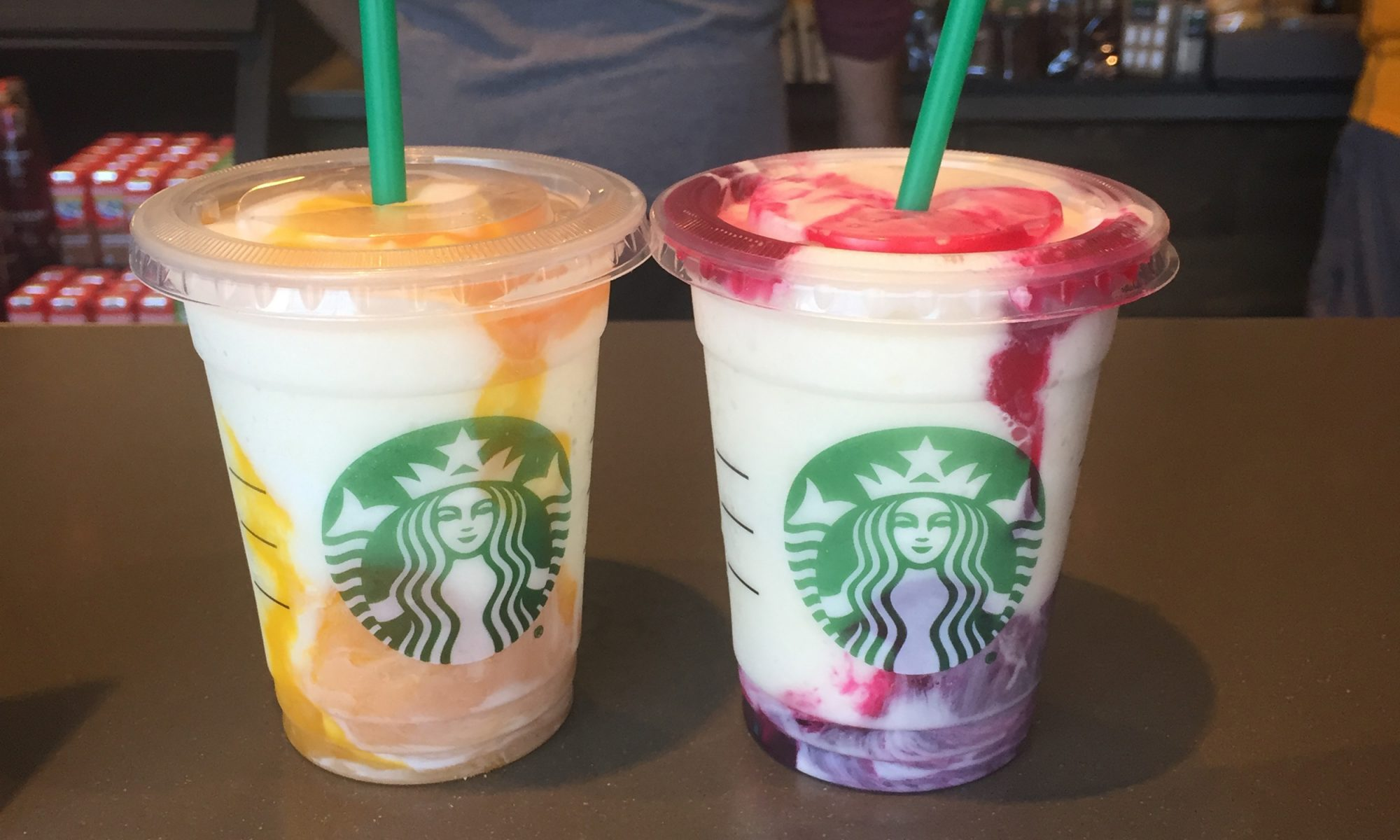 EC: Starbucks' New Mango Pineapple and Berry Prickly Pear Frappuccinos, Reviewed