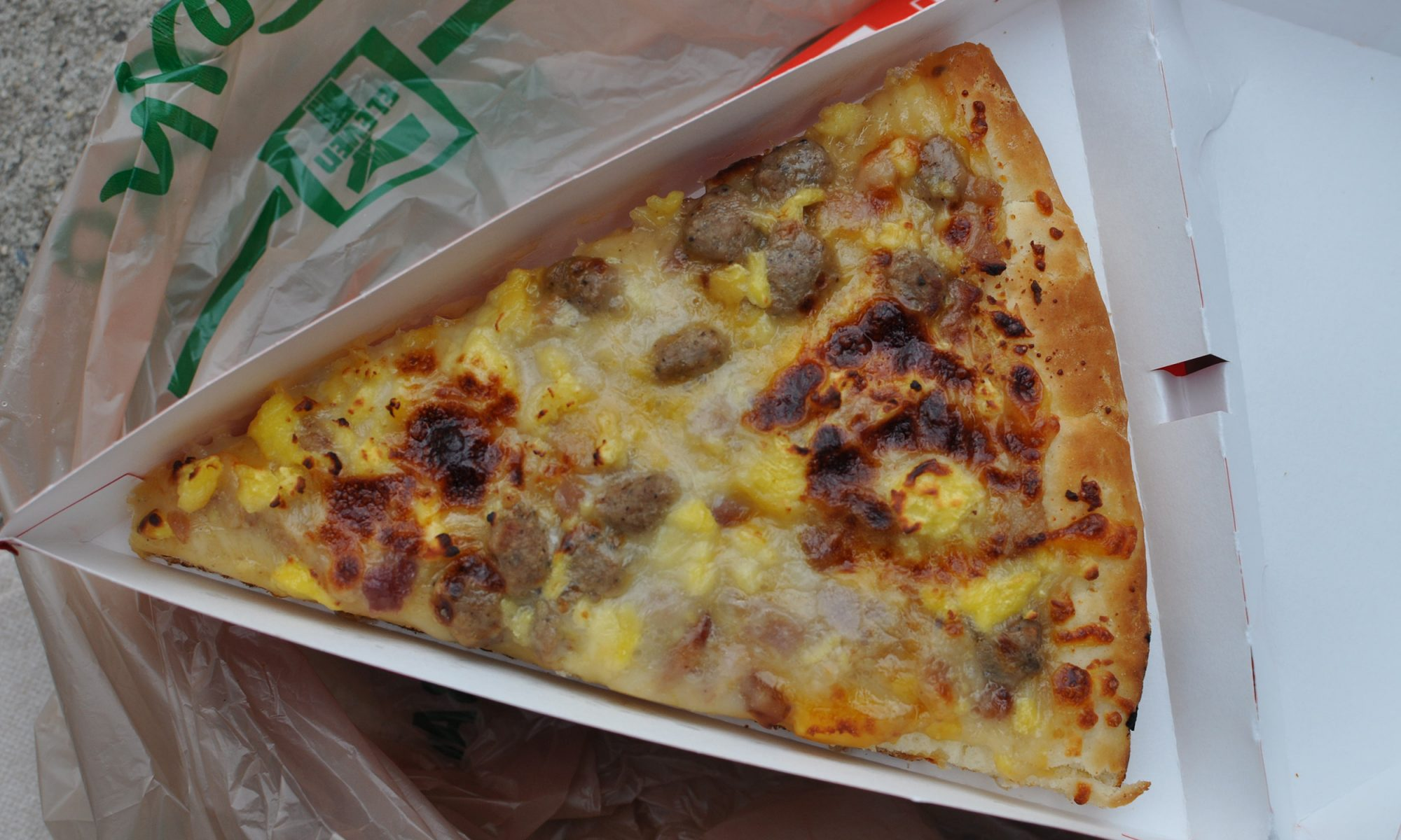 EC: I Tracked Down a 7-Eleven Breakfast Pizza in the Wild and Reviewed It