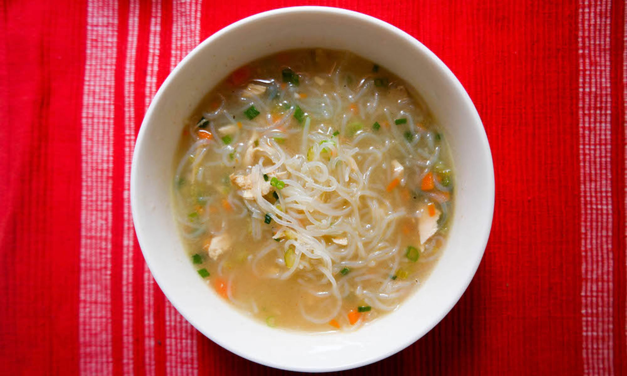EC: Filipino Chicken Noodle Soup Is the Best Way to Kick Off the New Year