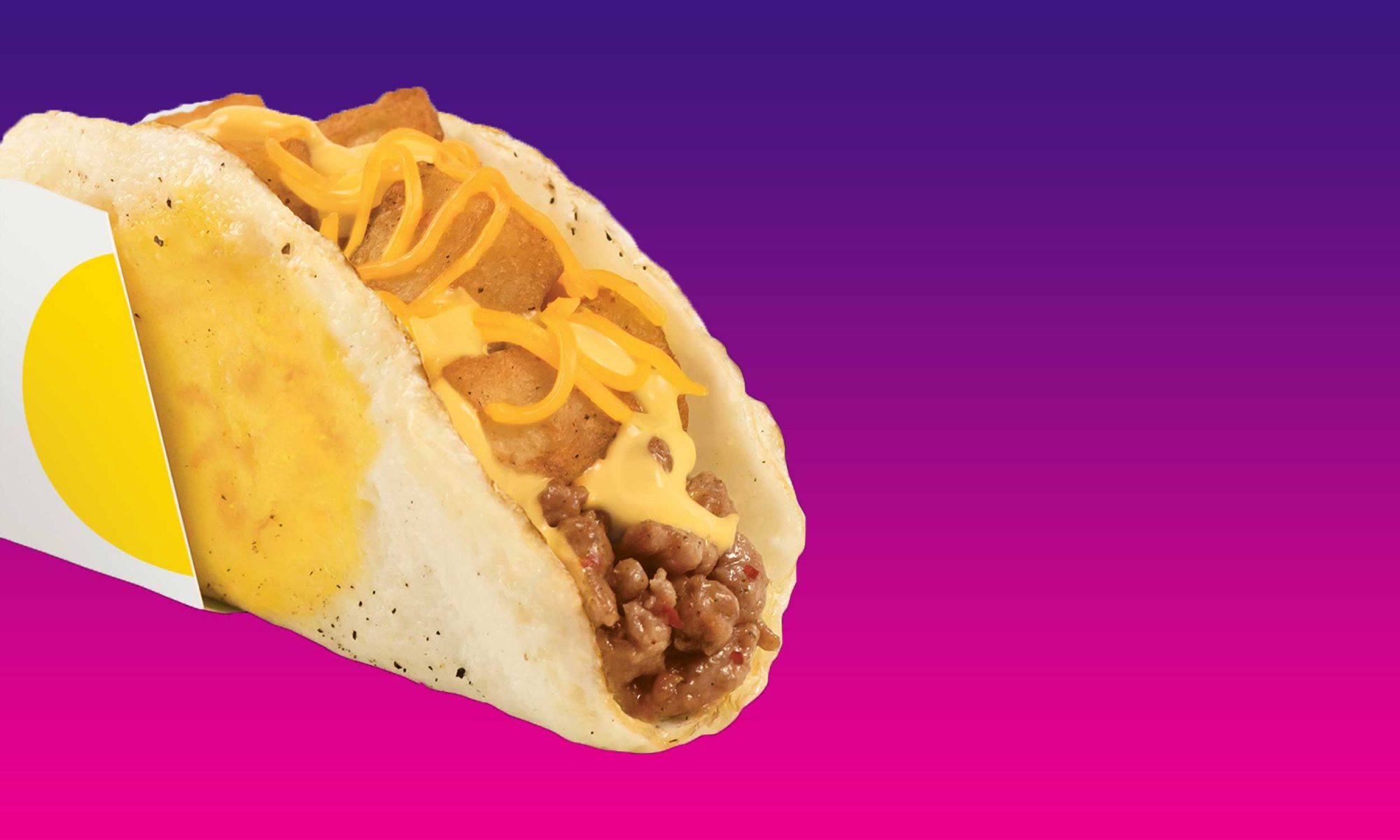 EC: Taco Bell's New Breakfast Taco Is Naked AF