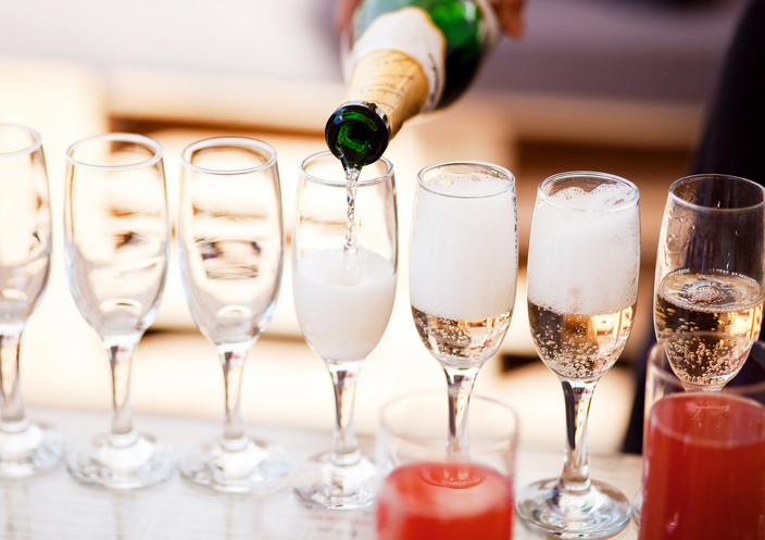 EC: Prosecco pong exists, and it's beer pong's older, sophisticated cousin