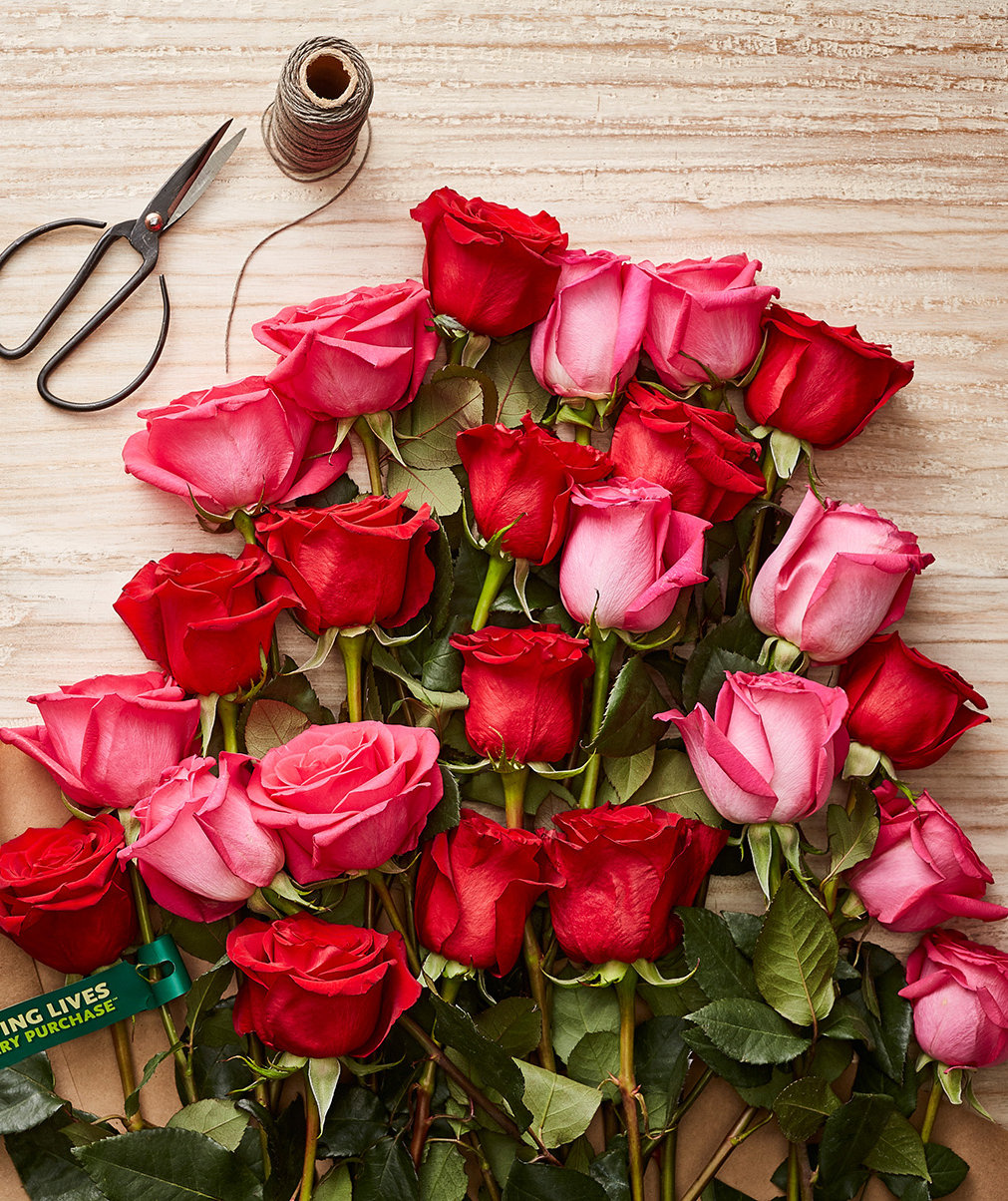 The Best Valentine's Day Flower Deals From Whole Foods, Trader Joe's, Aldi, and More