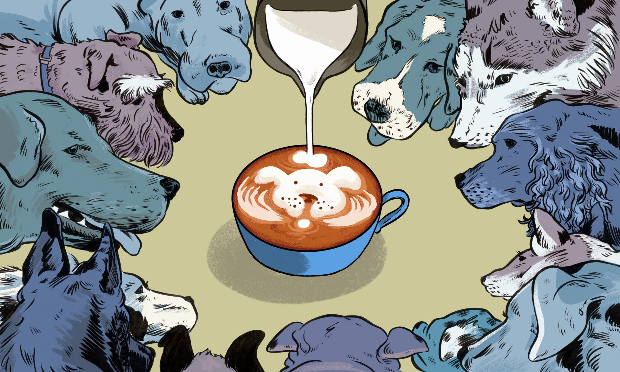 EC: Eating with Beasts at Montreal's Puppy Café
