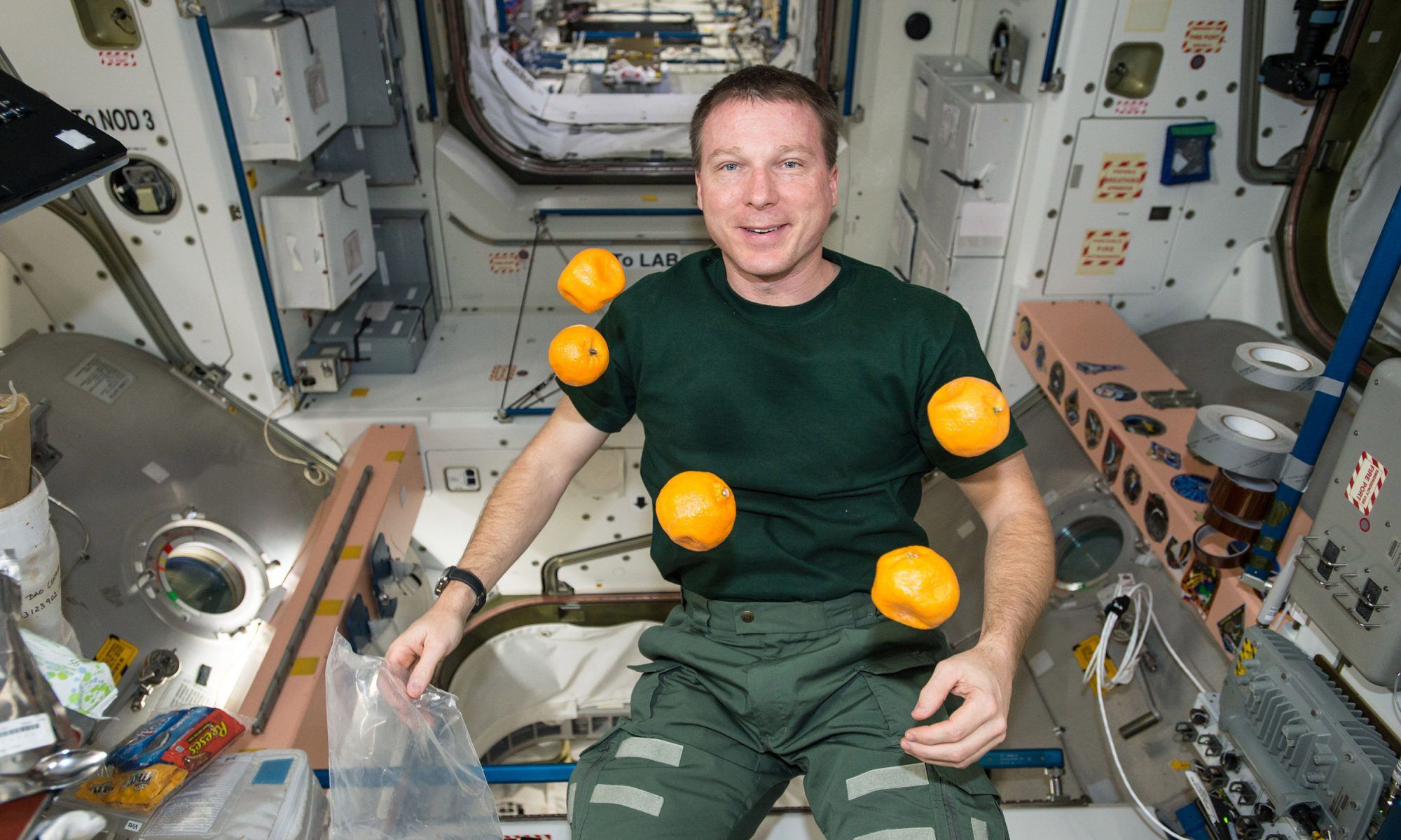 EC: What Do Astronauts Eat for Breakfast?