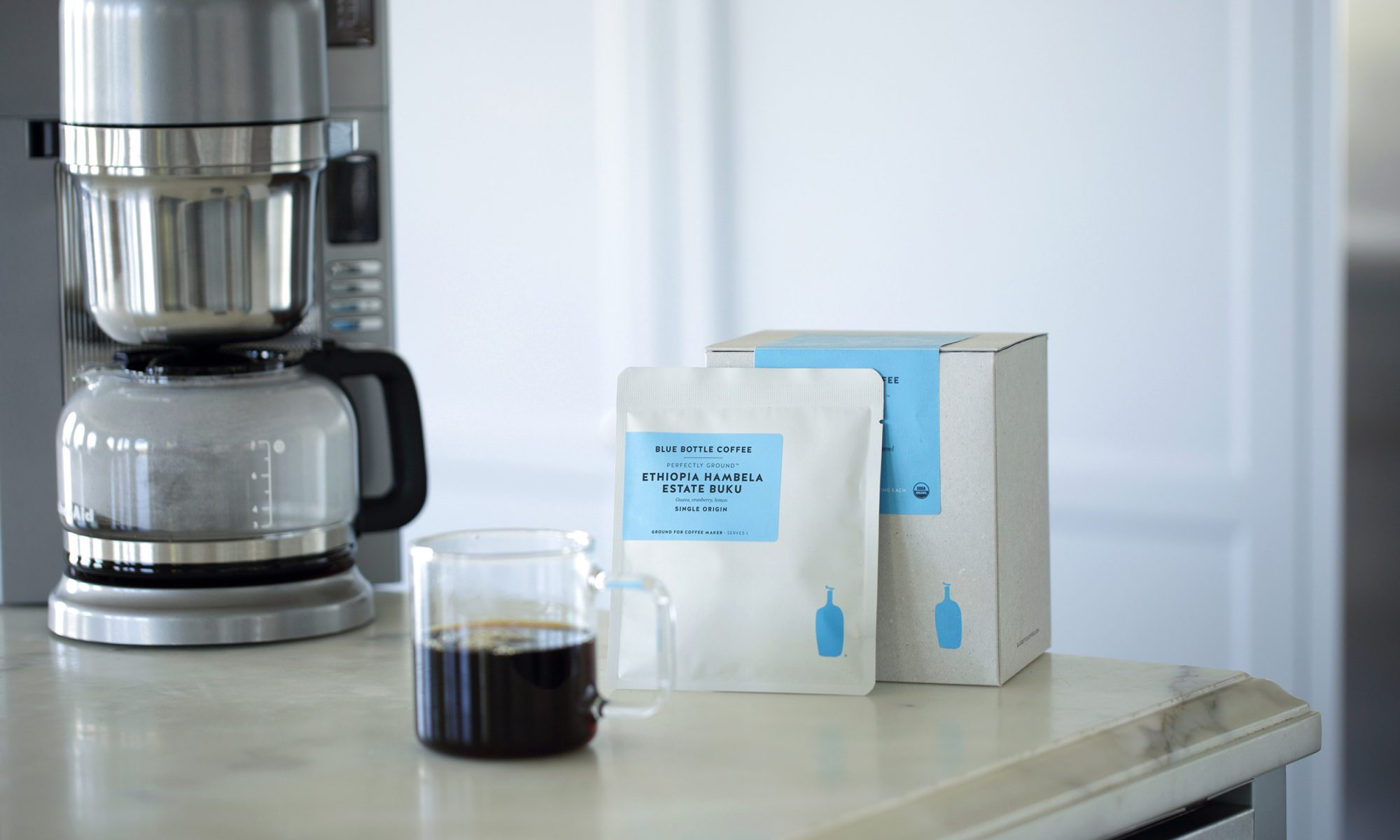 EC: Blue Bottle Coffee Co. Launches Packaged Ground Coffee