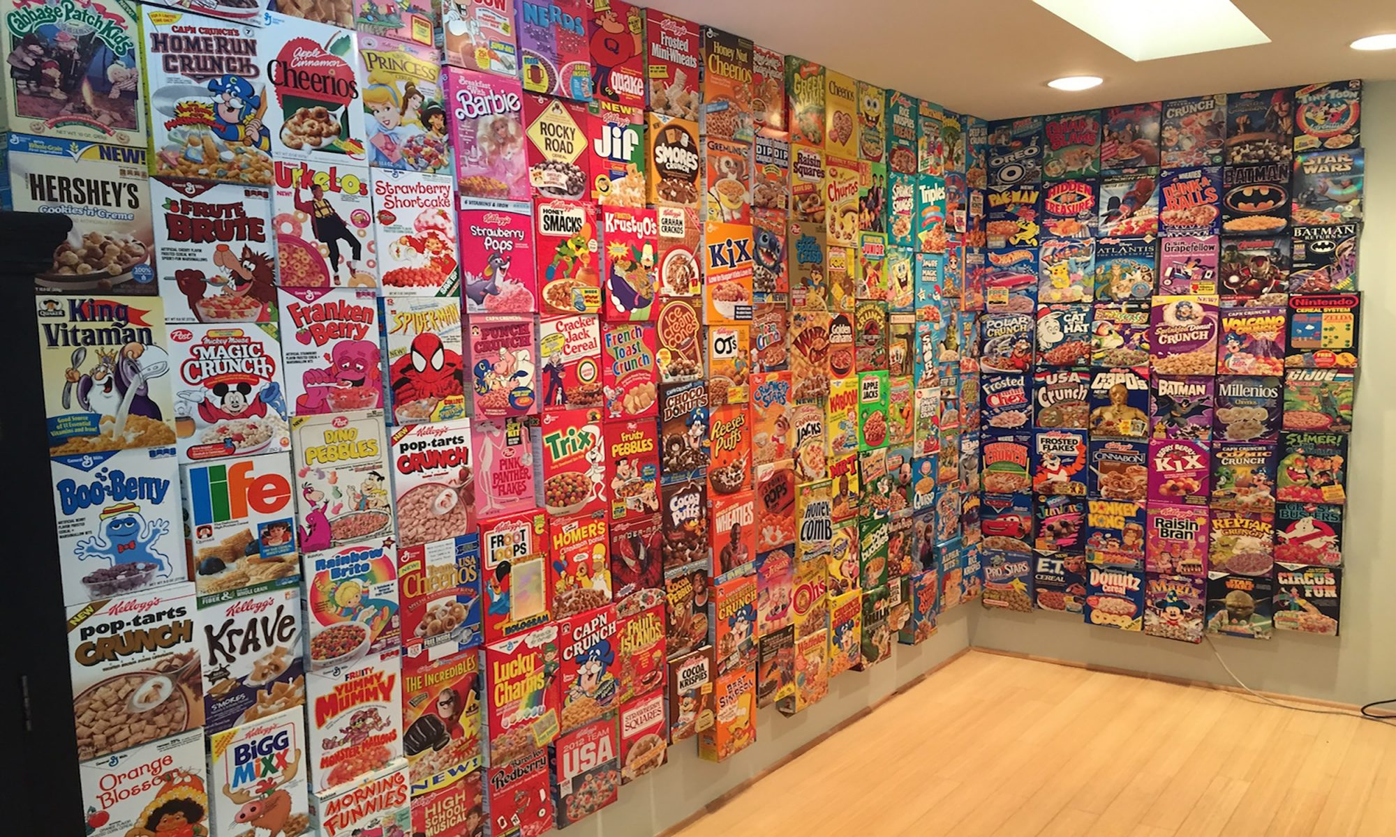 EC: Meet the Cereal Box Collector Living Out Your Childhood Fantasy