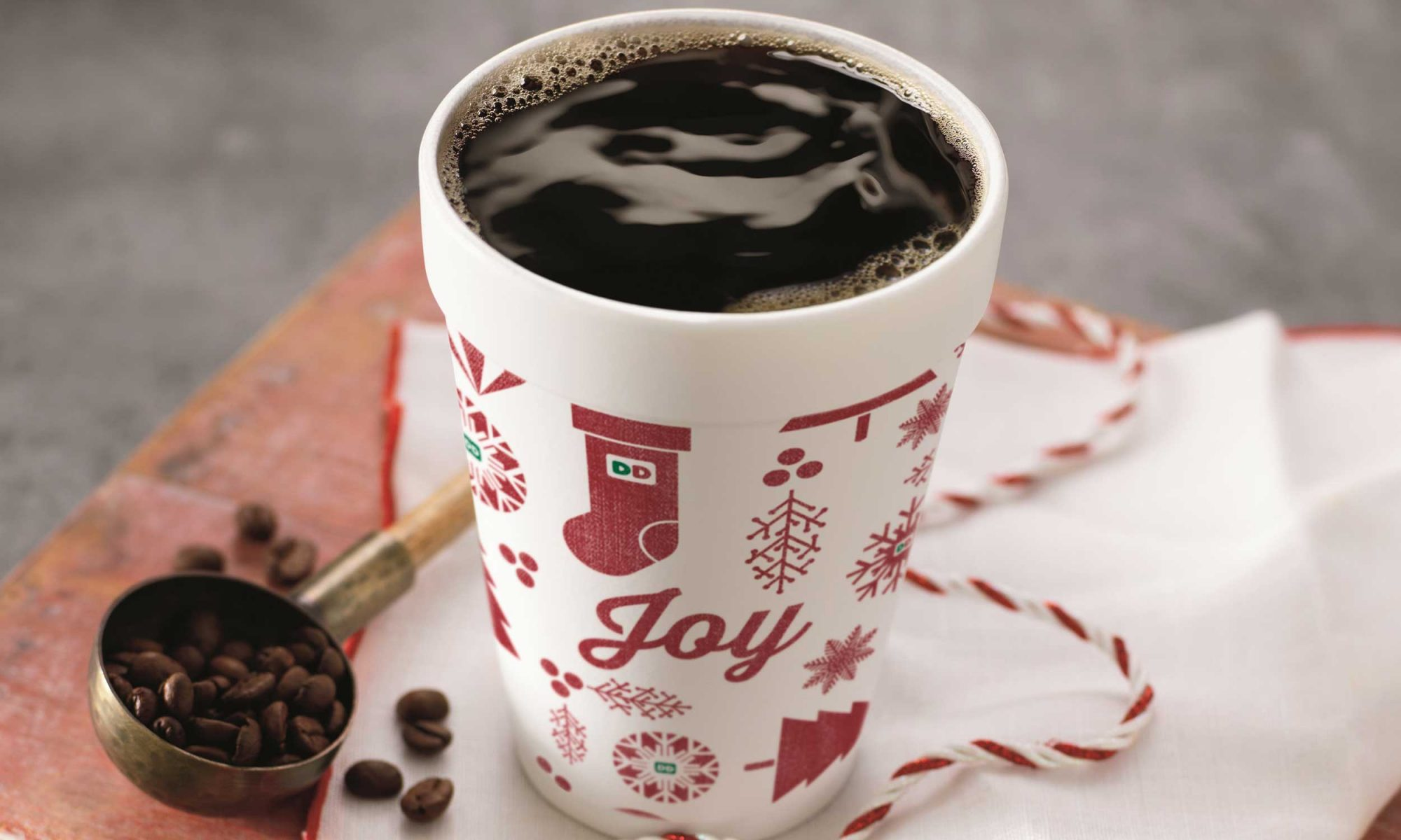 EC: How to Score Free Dunkin' Donuts Coffee This December